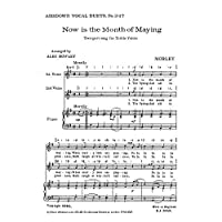 Thomas Morley: Now Is The Month Of Maying (2-Part) / トマス・モーリー: 今や五月の季節 (2部)