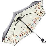 (アドンルル)adunlulu 傘 折りたたみ傘 超軽量190g 超精巧超遮光 紫外線遮蔽率99% 高密度NC布 コンパクト 日傘 携帯しやすい おしゃれ レディース 可愛い yellow