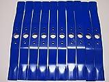 クボタ・丸山用 畦草刈ブレード普及品 410mm 10枚 クボタ GC-701 GC-701D GC-702 GC-703 丸山 MGC-701 MGC701D MGC-702 MGC-703 ゼノア ZGC-701 ZGC-703 サイトー SGC-702 SGC-703 用