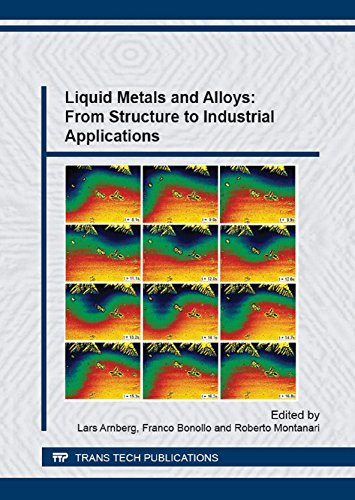 Liquid Metals and Alloys: From Structure to Industrial Applications (Materials Science Forum)