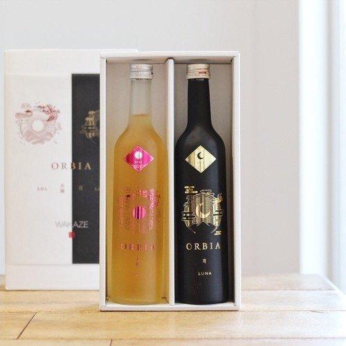 ワイン樽熟成日本酒 ORBIA SOL&LUNA 500ml セット