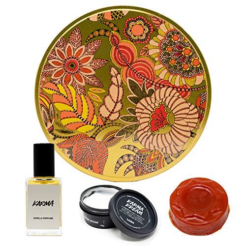 (ラッシュ) LUSH ラッシュ カルマ Karma パフューム ボディローション 石鹸 ギフトセット ソープセット ショップバッグ付き