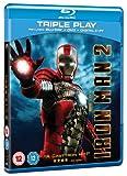 Iron Man 2 - Triple Play (Blu-Ray + DVD + Digital Copy) [Import anglais]