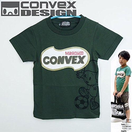 CONVEX(コンベックス) サッカーpt半袖Tシャツ (120-150cm/カーキ18)▼507242