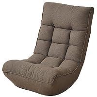 山善(YAMAZEN) ふかふかポケットコイル座椅子 カーキ(メーカー色表示:ダークブラウン) FFS-60(DBR)