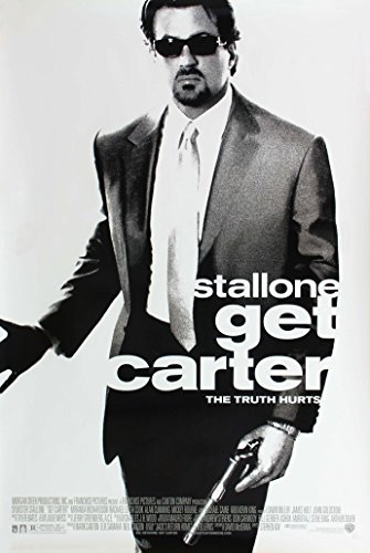Get Carter映画ポスター1?Sidedオリジナル27?x 40?SYLVESTER STALLONE