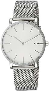 [スカーゲン]SKAGEN 腕時計 SKW6442 HAGEN ハーゲン スチール・メッシュ ホワイト×シルバー メンズ 時計 [並行輸入品]
