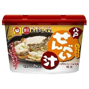 【B-1グランプリ公認】マルちゃん カップ 八戸せんべい汁 しょうゆ味 26.5g×6個