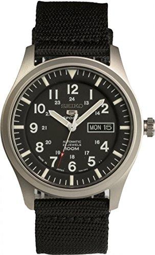 [セイコー]SEIKO 腕時計 SEIKO 5 SPORTS(セイコー ファイブ スポーツ) オートマチック デイデイト 逆輸入 海外モデル 日本製 SNZG15JC メンズ 【逆輸入品】