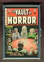 VaultのホラーEC comic book SeanceステンレススチールIDまたはCigarettesケース( Kingサイズまたは100mm )
