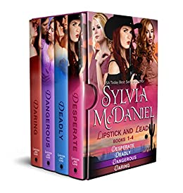 Lipstick and Lead Box Set (Books 1-4): Western Historical Romance by [McDaniel, Sylvia]