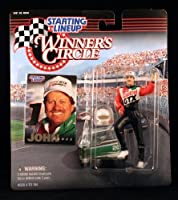 JOHN FORCE /CASTROL GTX 1998 Winner's Circle Starting Line NASCAR Series Action Figure & Exclusive Collector Trading
