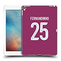 オフィシャルManchester City Man City FC Fernandinho Luiz Roza 2017/18 プレイヤーズ・アウェーキット グループ1 iPad Pro 9.7 (2016) 専用ハードバックケース