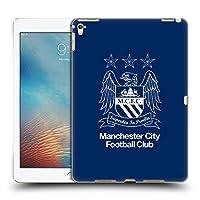 オフィシャルManchester City Man City FC アウトライン・ホワイト&黒曜石 クレスト iPad Pro 9.7 (2016) 専用ハードバックケース