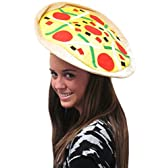 (カバーユアヘア)CoverYourHair ピザハット - 楽しいカラフルなハットピザ 【インポート】