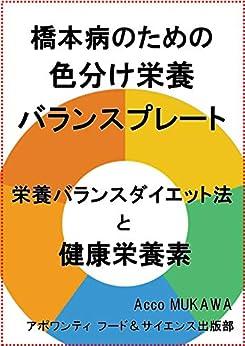 [アポワンティ フード&サイエンス出版部, Acco MUKAWA]の橋本病のための色分け栄養バランスプレート: 栄養バランスダイエット法と健康栄養素