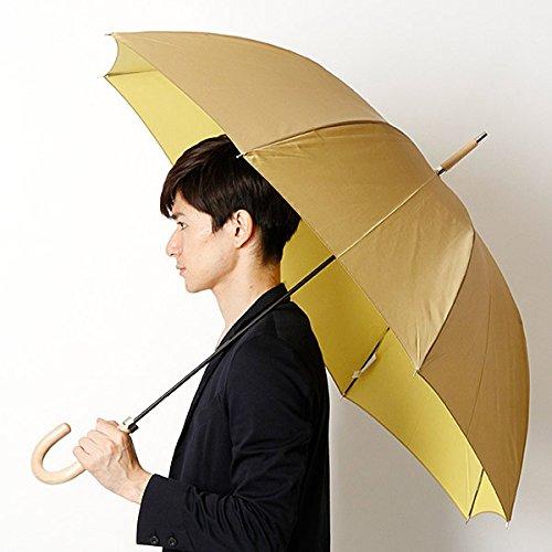 マッキントッシュ フィロソフィー(MACKINTOSH PHILOSOPHY) 長傘(手開きタイプ・親骨65cm以上・男女兼用)【ベ-ジュ/65cm】