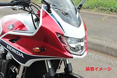 ポッシュ(POSH) バイク用LEDウインカー(SFタイプ) ブラックボディ/オレンジレンズ ライトウエイトLEDウインカー ポジション対応 096451-06