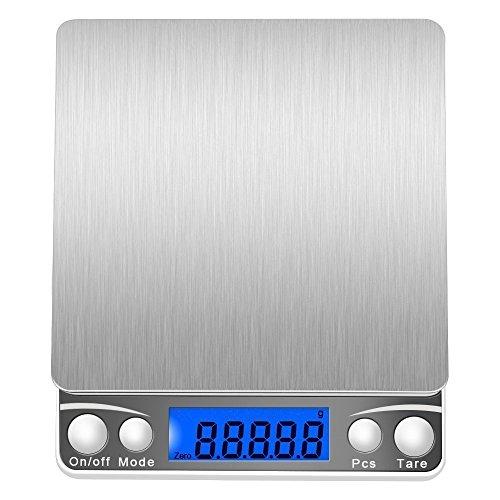 HAPPY CY 改良版 デジタルスケール 高精度計量器 電子秤 はかり皿はかり 計量範囲0.01g -500g 個数計量機能 風袋引き機能 業務用 プロ用