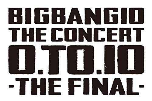 BIGBANG10 THE CONCERT : 0.TO.10 -THE FINAL-(Blu-ray(2枚組)+スマプラムービー)