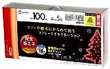 Takashoその他 LIT-S100 イルミネーション ストレート 100球 LIT-S100R レッドの画像