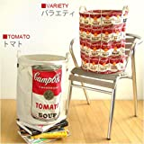 Pilier Round L [Andy Warhole × campbell's]ピリエ ラウンドバスケット[アンディ ウォーホル×キャンベルスープ缶]  トマト