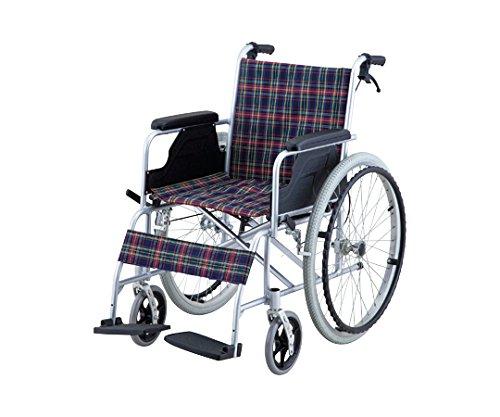 【非課税】ナビス 車椅子 (自走式/アルミ製/介助ブレーキ付...