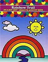Do-A-Dot DADACT-340 Creative Activity Rainbow Trail Art Book [並行輸入品]