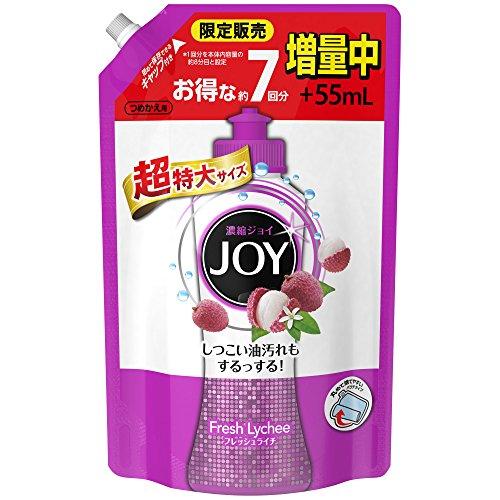ジョイコンパクト JOY フレッシュライチの香り 詰め替え 超特大増量 1120ml 1個 食器用洗剤 P&G