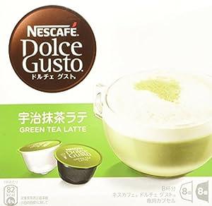 ネスカフェ ドルチェグスト 専用カプセル 宇治抹茶ラテ 8杯分