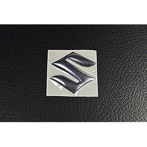 SUZUKI(スズキ) メタリックステッカー(デカール) 2枚セット [並行輸入品]