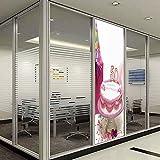 YOLIYANA 静電気でくっつく装飾ウィンドウフィルム 7月4日の装飾 キッチン 寝室 リビングルーム 水彩画スタイル アメリカの兵士 独立記念日 24''x78'' YO_03_05_Q0404_001730