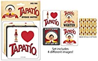 TAPATIO, Officially Licensed Product, 4 pieces Beverage COASTER SET