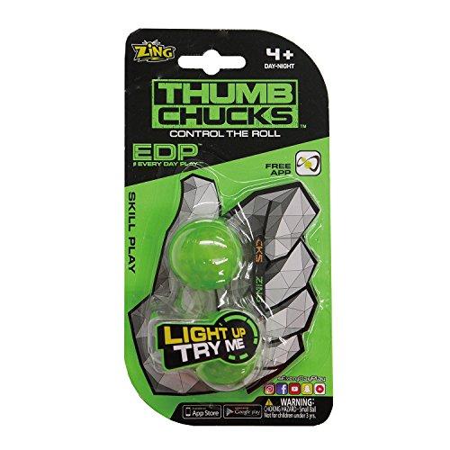 ZING TOYS サムチャックス Thumb Chucks 緑 フィジェット Fidget EDPシリーズ ZT-002