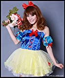 img_Beauty7 コスプレ衣装★ ディズニー 白雪姫 白雪姫風 ワンピース ハロウィンパーティーカーニ