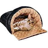 TaoKing ペット ベッド ドーム型 猫 中小型 犬 クッション M