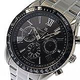サルバトーレ マーラ ソーラー クロノ メンズ 腕時計 SM15116-SSBKSV ブラック[逆輸入品] [t-1]