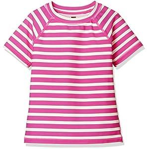[ティコレクション] 子供服 キッズ 半袖 ラッシュガード 水着 女の子 ガールズ インポート UPF40 8S12606R-E33 ピンク US 6T(6~7歳):日本サイズ約120~130cm (日本サイズ130 相当)