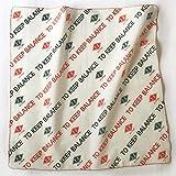 アンドパッカブル 装飾雑貨(ファッション小物) カーキ KB 50×50×1cm ハンカチ 63585