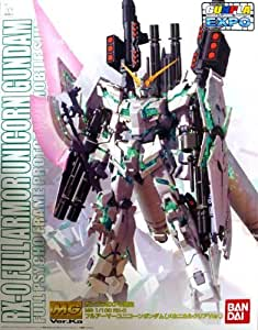 MG 1/100 RX-0 FULL ARMOR UNICORN GUNDAM mechanical clear ver. Gundam EXPO by Bandai [並行輸入品]