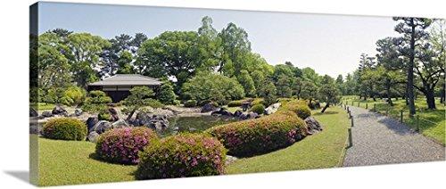 """Tea House in a Garden , Koun Teahouse、Nijo城、京都県、日本ギャラリー‐ #バリエーション 60"""" x 24"""" 1412898_1_60x24_none"""