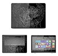 Decalrus - Protective Decal Skin skins Sticker for Dell Inspiron i5447 (14 Screen) case cover wrap DEinspironi5447-24
