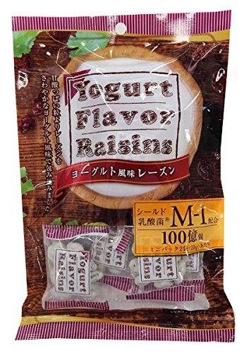 浅草屋産業 ヨーグルト風味レーズン 80g×4袋