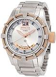 ドルチェアンドガッバーナ Invicta Men's 1579 Reserve Retrograde Silver Dial Stainless Steel Watch