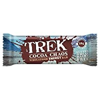 ココアカオスバー55グラムから無料でトレッキング (x 6) - Trek Free From Cocoa Chaos Bar 55g (Pack of 6) [並行輸入品]