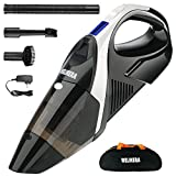Welikera 掃除機 充電式掃除機 ハンディ/乾湿両用クリーナー LEDライト付きコードレス掃除機 7500PA吸引力