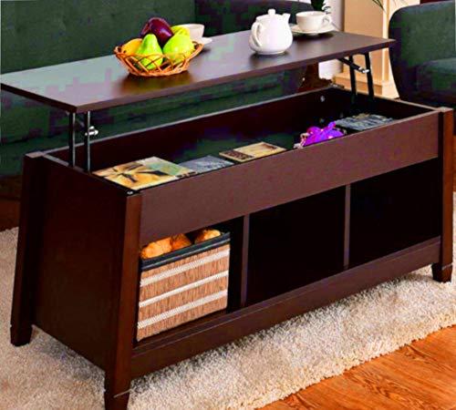 サイズ変更可能テーブルEndコーヒー装飾ストレージ長方形Lo...