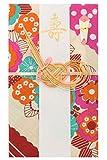 《ネコポス対応》(キステ)Kisste 小風呂敷 祝儀袋 5-6-01345 B:ピンク【花咲く】 (1346)