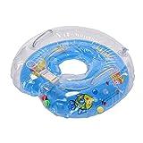 YideaHome赤ちゃんのトレーニングに 首浮き輪 プールやお風呂で バランス 水遊び 入浴 調節ベルト付