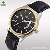 HWCOO 美しい腕時計 ウォッチスポーツシリコーン男性ハイエンドカップル電子手 (Color : 4)